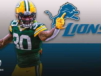 Jamaal Williams. Detroit Lions