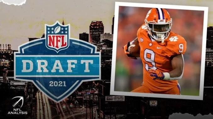 Travis Etienne, NFL Draft
