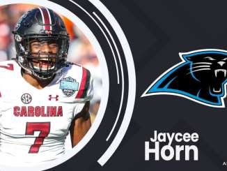 Carolina Panthers, Jaycee Horn, 2021 NFL Draft