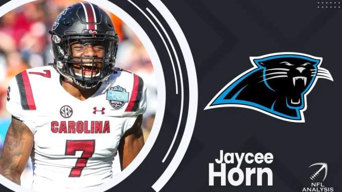 Carolina Panthers, Jaycee Horn, 2021 NFL Draft