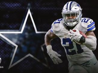 Ezekiel Elliott, Dallas Cowboys, Fantasy Football