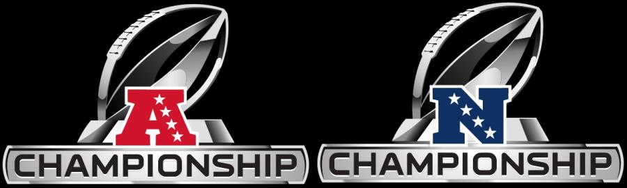 Logos de los campeonatos de conferencia para la AFC y NFC