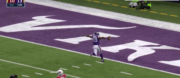 Xavier Rhodes aaaa laaaaaaa calleeeeeeeee - Captura Canal de Youtube de la NFL