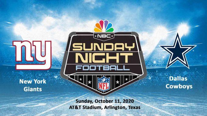 New York Giants vs Dallas Cowboys