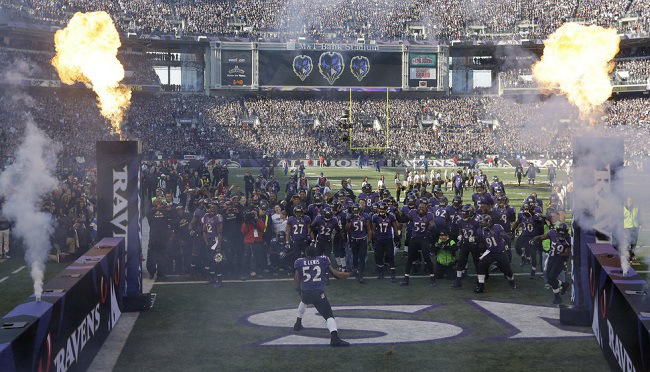 The Best Entrance in the NFL – Ray Lewis, Baltimore Ravens