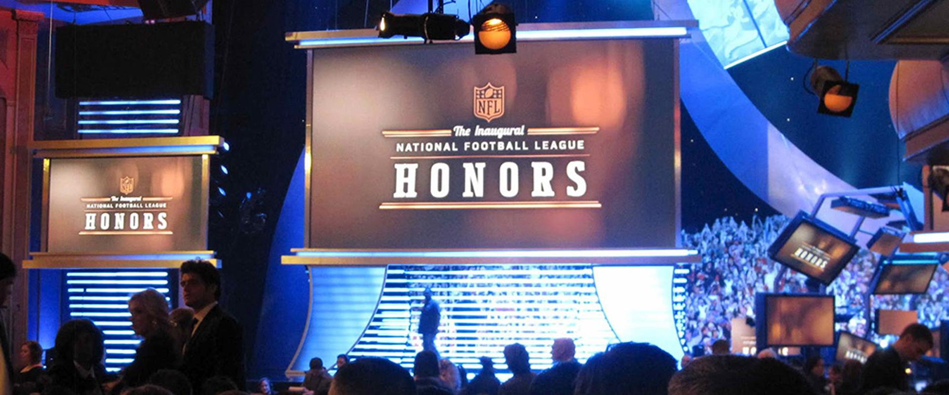 NFL Honours Award winners announced