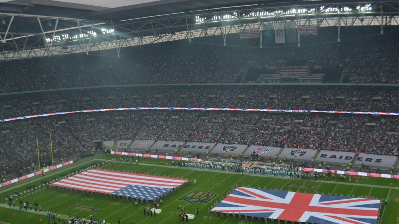 NFL pump the brakes on fourth London game in 2017
