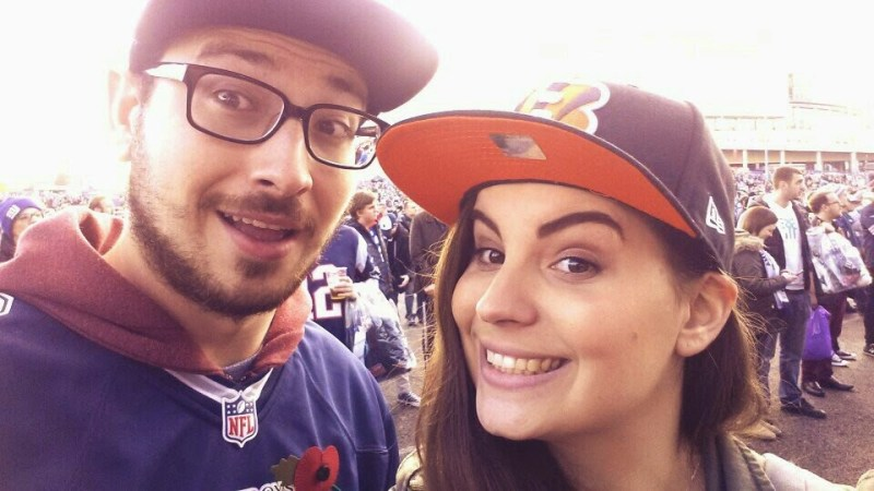 Celebrating female NFL fans in the UK: Introducing Cincinnati Bengals fan, Helen Stirling.