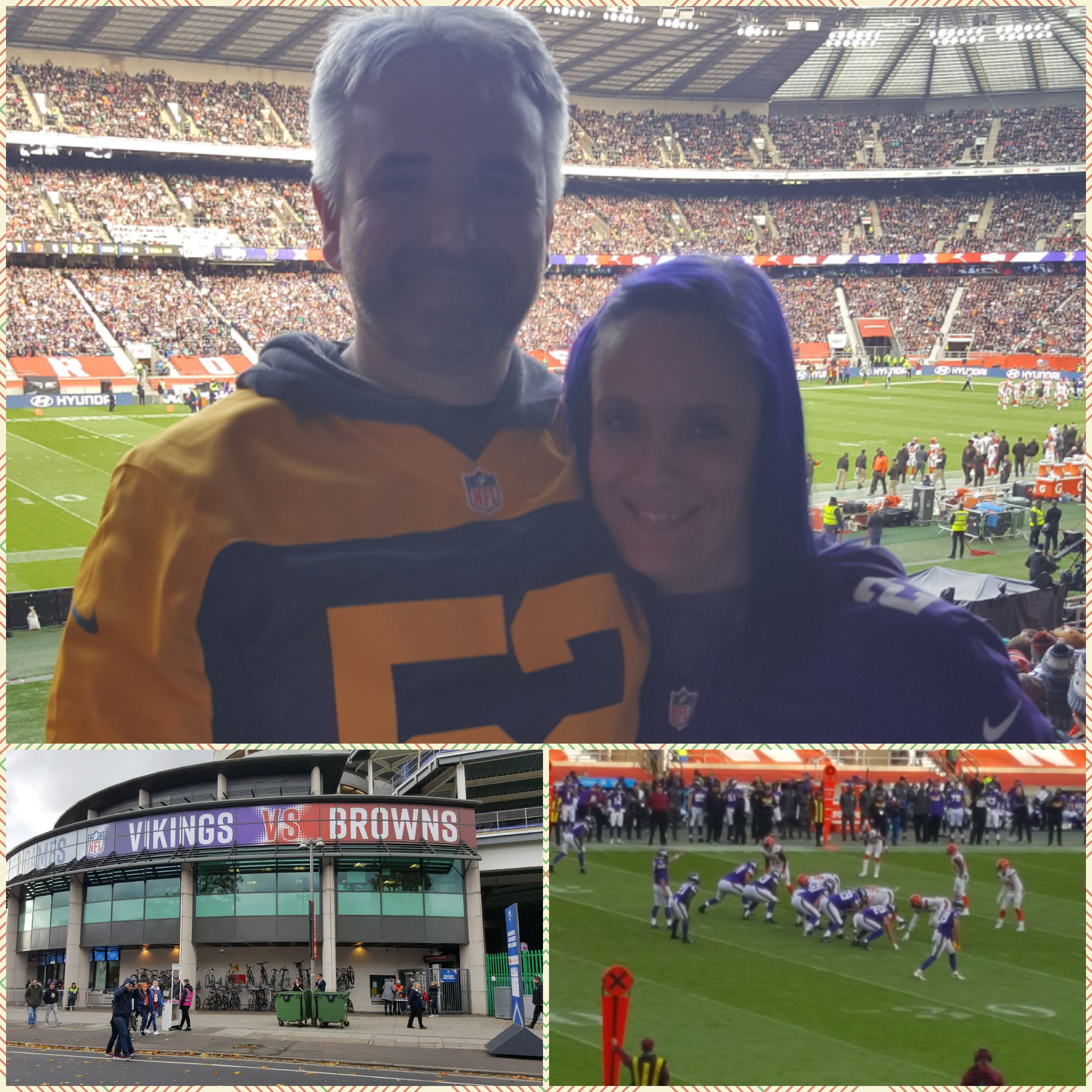 Celebrating female NFL fans in the UK: Introducing Vikings fan, Rachel Poulson.