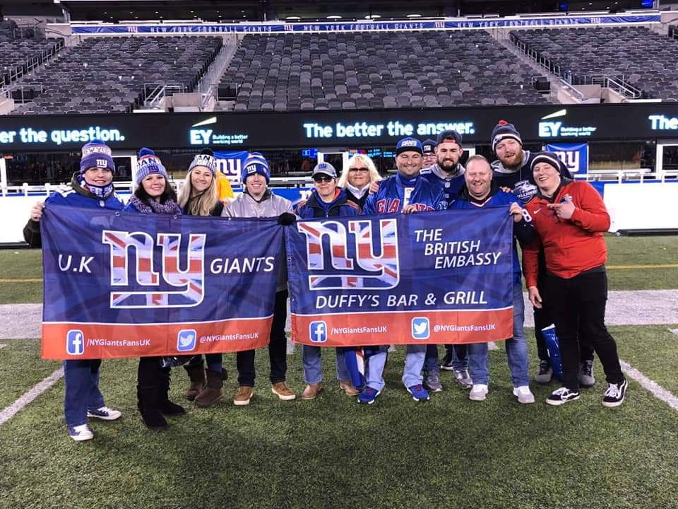 Celebrating female NFL fans in the UK: Introducing New York Giants fan, Vicky Archer
