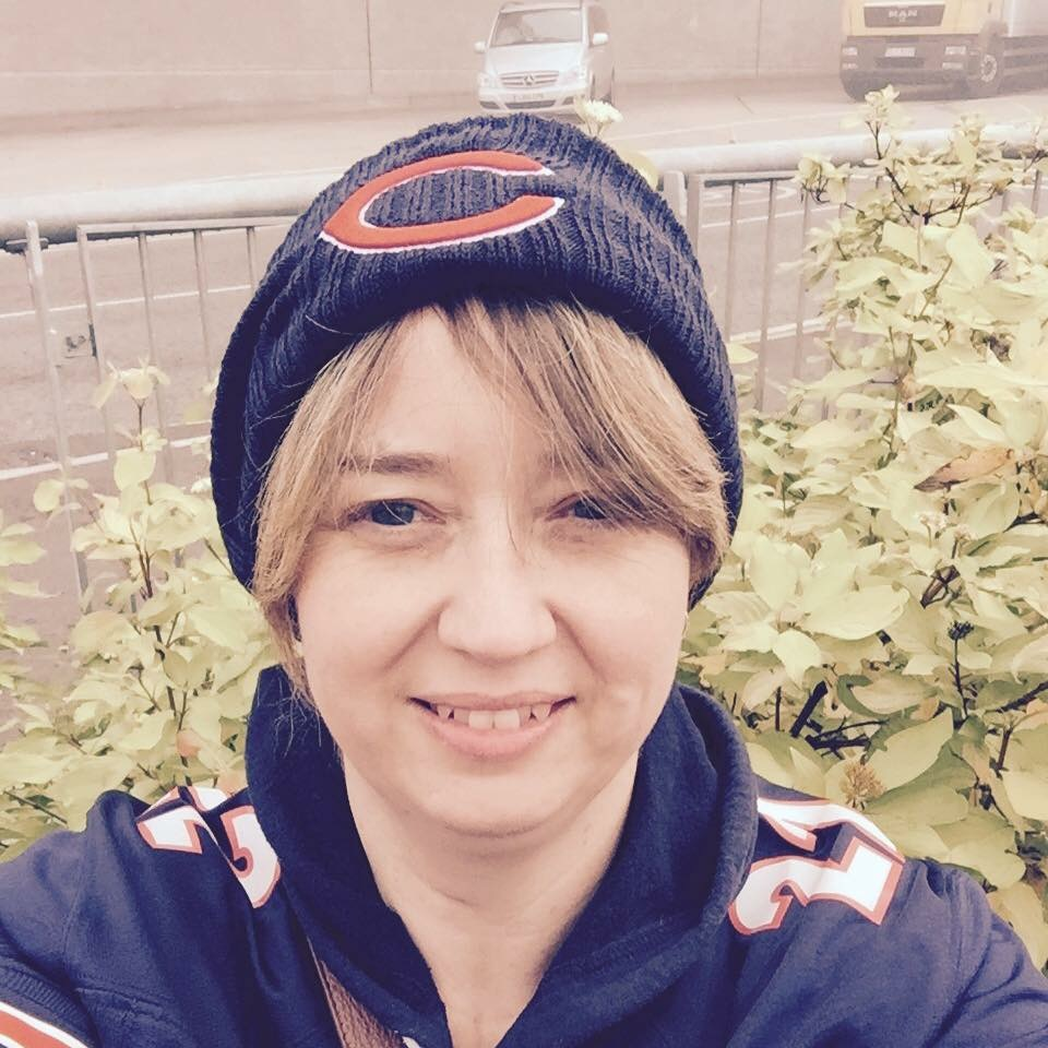 Celebrating female NFL fans in the UK: Introducing Chicago Bears fan, Lindsey Jepson