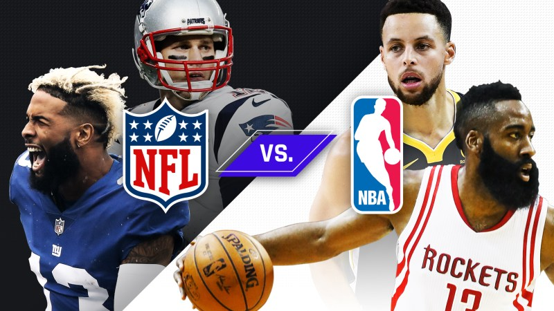 A look at the biggest NBA arenas and how it compares to the NFL