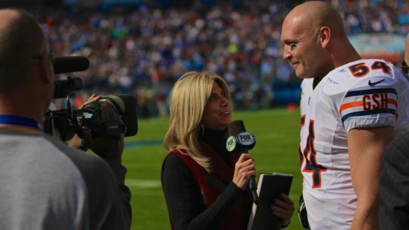 Laura Okmin, NFL on FOX sideline reporter