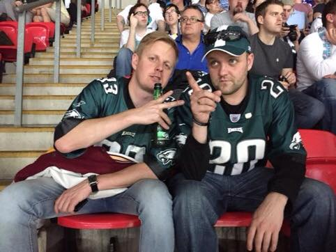 Celebrating NFL fans in the UK: Introducing Neil Dutton