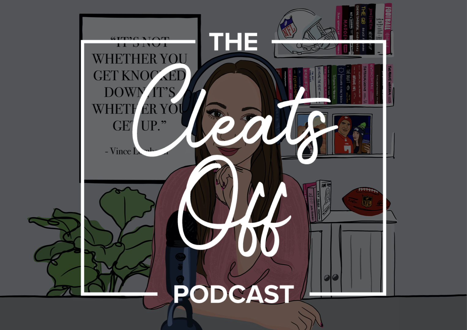 'NFLGirlUK meets' changes its name to 'The Cleats Off Podcast'.