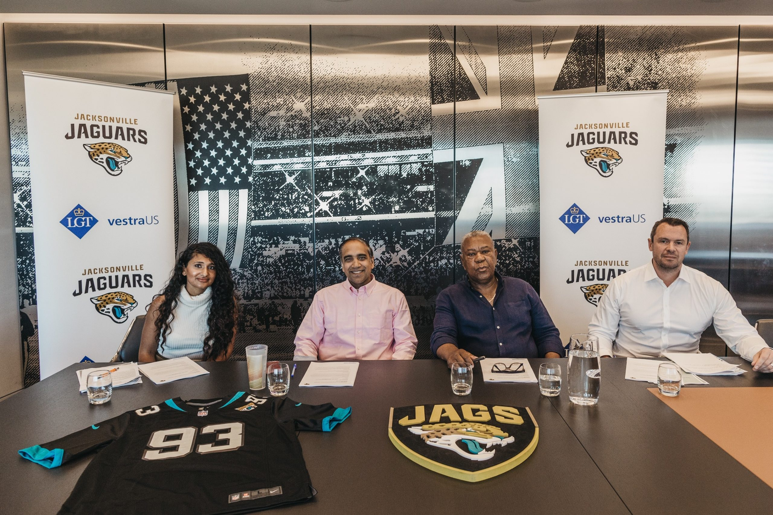 NFL team the Jacksonville Jaguars extend UK university grant application