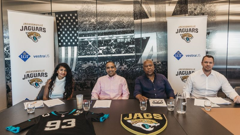 NFL team the Jacksonville Jaguars extend UK university grant application