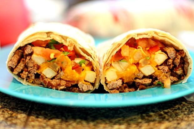 Gridiron grub inspired by Los Angeles – The California Burrito
