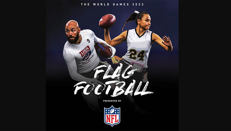NFL Partners with The World Games 2022 Birmingham to add Flag Football