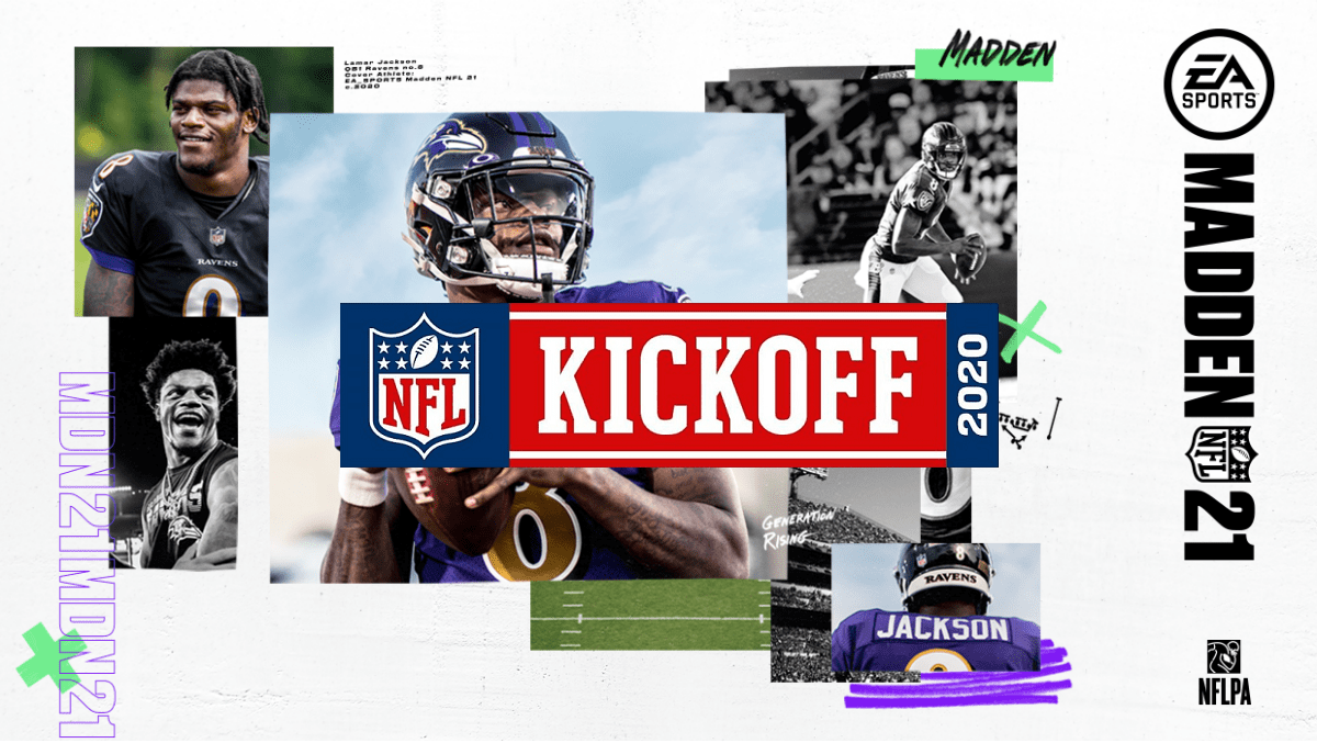 The 2020 NFL Kickoff show presented by EA Sports Madden NFL 21