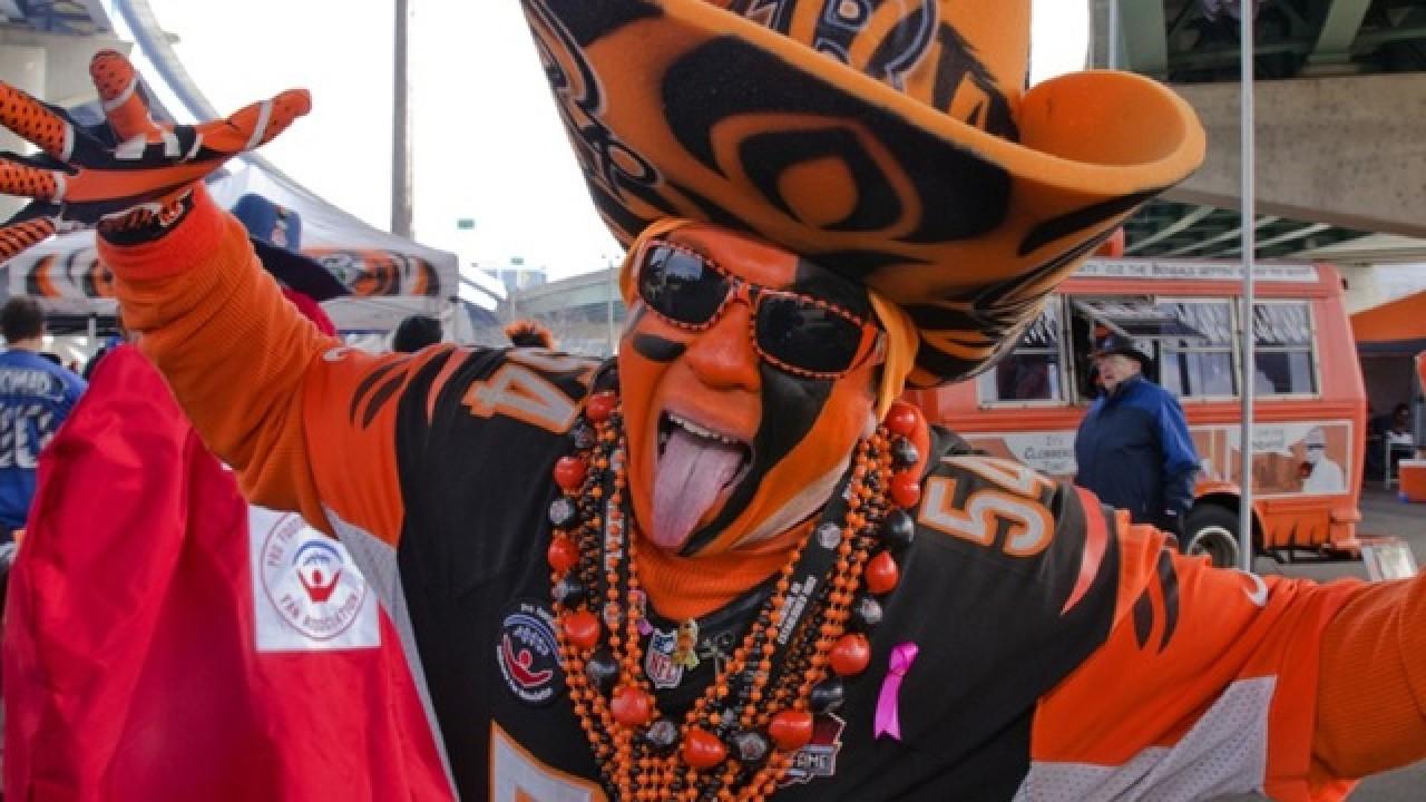 Cincinnati Bengals Superfan: Shawn Moore 'Who Dey Baby'