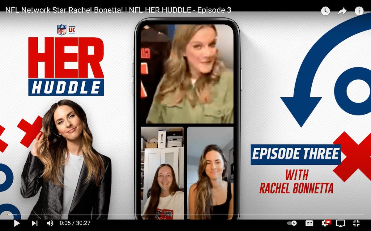 NFL Network Star Rachel Bonetta! | NFL HER HUDDLE – Episode 3