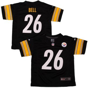 Preschool Pittsburgh Steelers Le'Veon Bell Nike Black Game Jersey