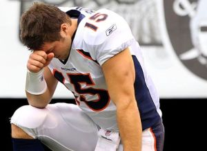 Tim Tebow: Carrying the Sins of the Media