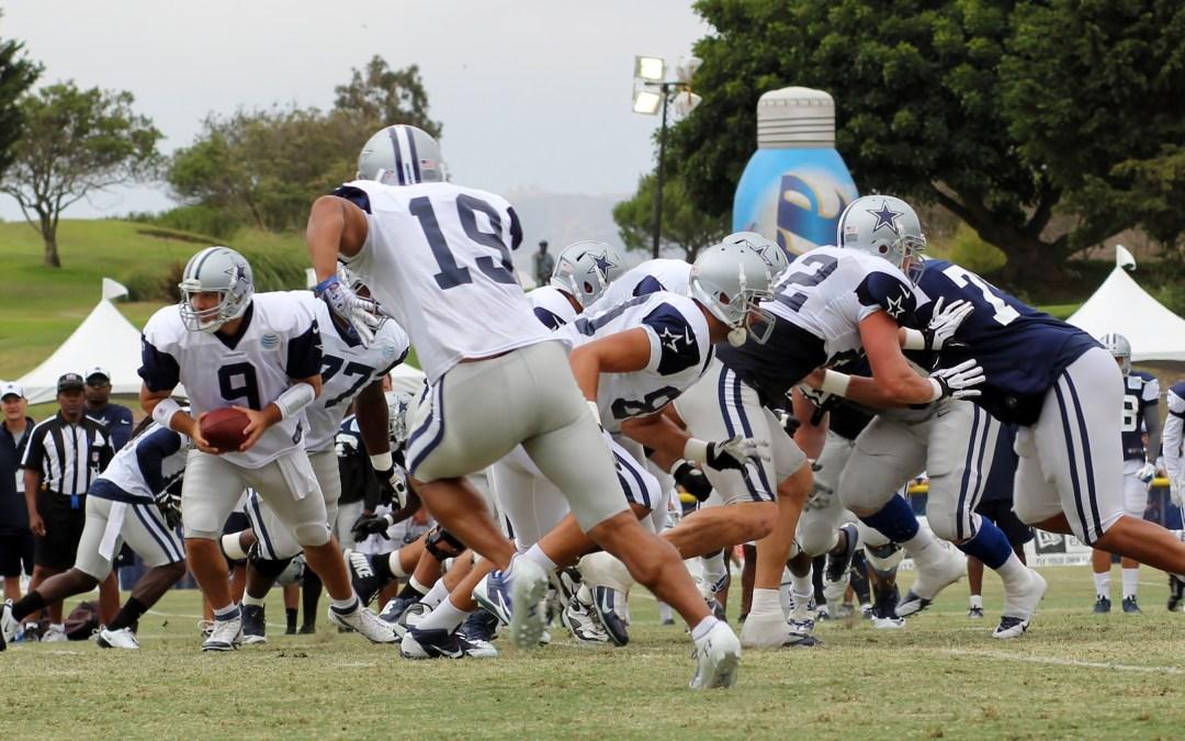 Dallas Cowboys Training Camp Blue-White Scrimmage