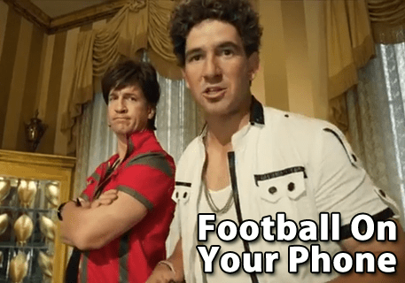 The Mannings – Football On Your Phone