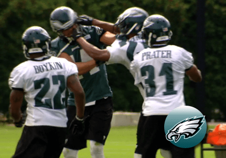 Riley Cooper Fight at Practice with Cary Williams