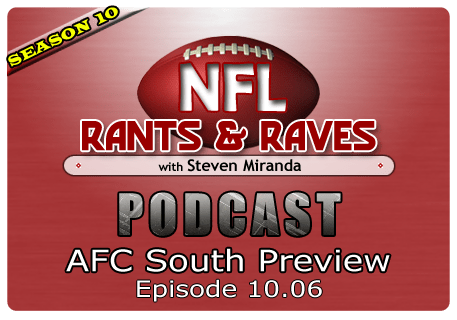 Episode 10.06 – AFC South Preview