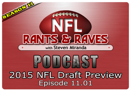 Episode 11.01 – 2015 NFL Draft Preview