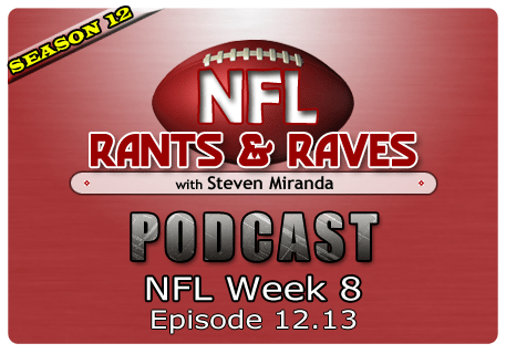 Episode 12.13 – NFL Week 8