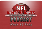 Week 13 Picks
