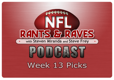 Week 13 Picks – No Show