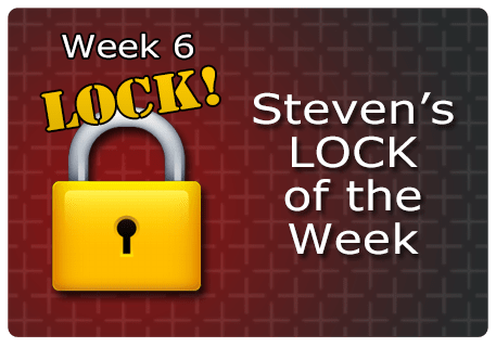 WK 6 – LOCK of the Week