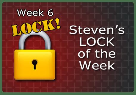 WK 6 – LOCK of the Week