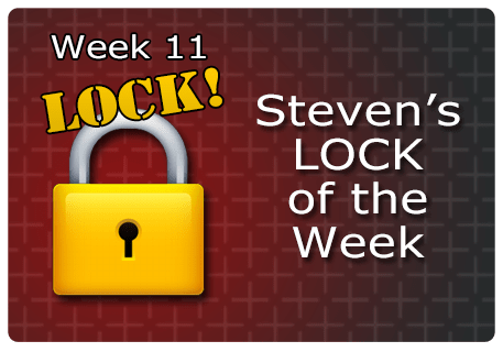 WK 11 – LOCK of the Week