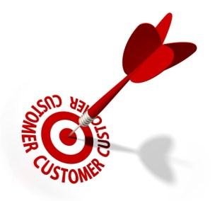 five steps target customers