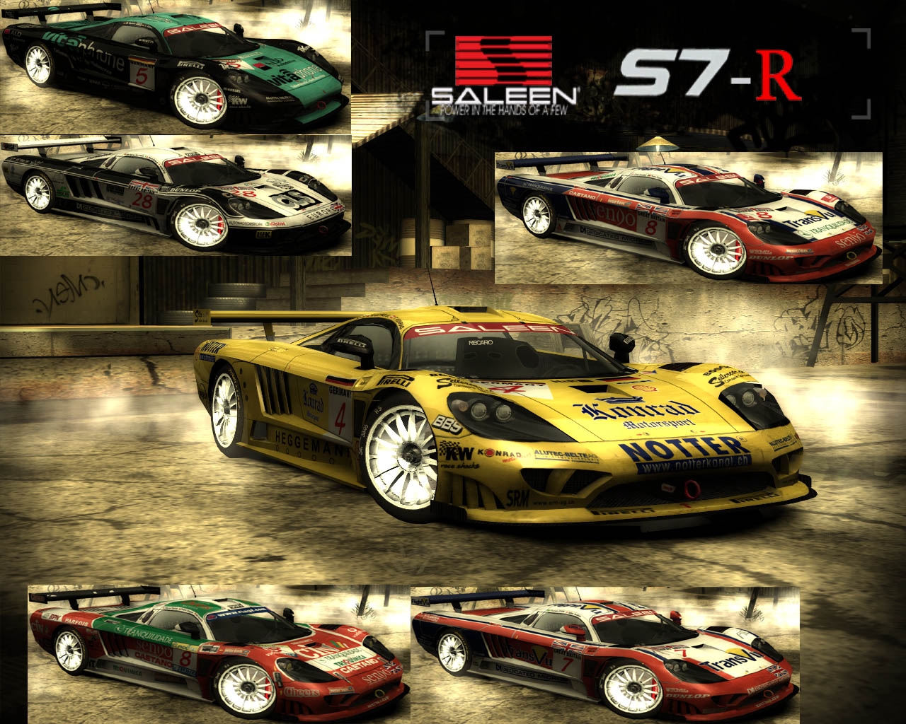 Need For Speed Most Wanted Cars By Saleen NFSCars