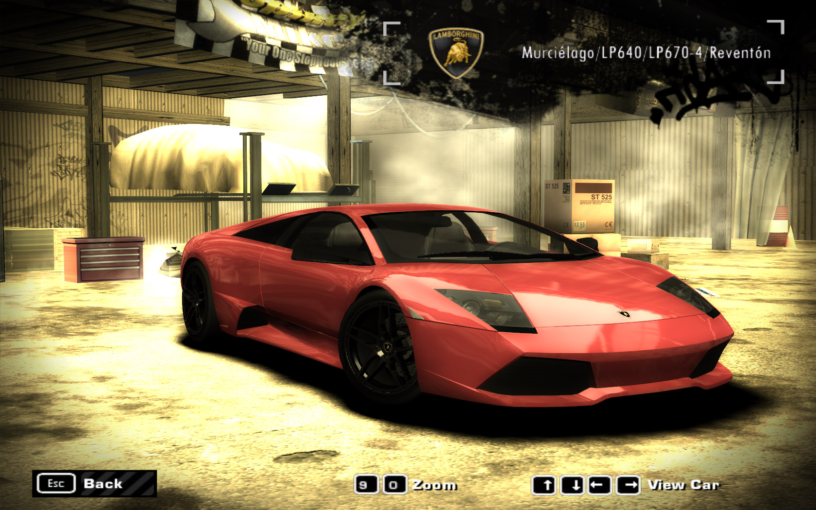 Need For Speed Most Wanted Lamborghini Murcielago Lp640