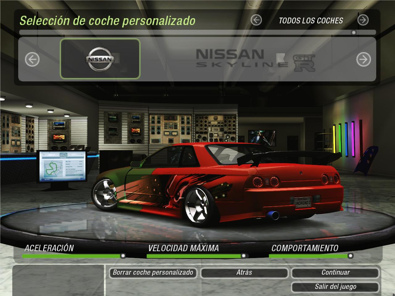 Need For Speed Underground 2 Nissan Skyline B324r Bee R