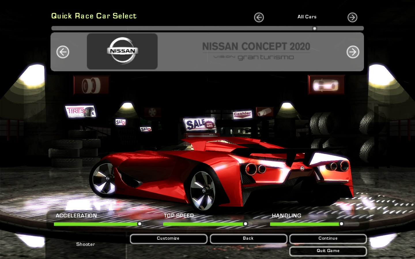Need For Speed Underground 2 Nissan Concept 2020 Vision