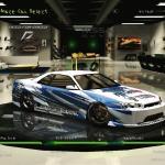 Nissan Skyline Gtr R34 Drift Spec By Dj Hunter19 Need For Speed Underground 2 Nfscars
