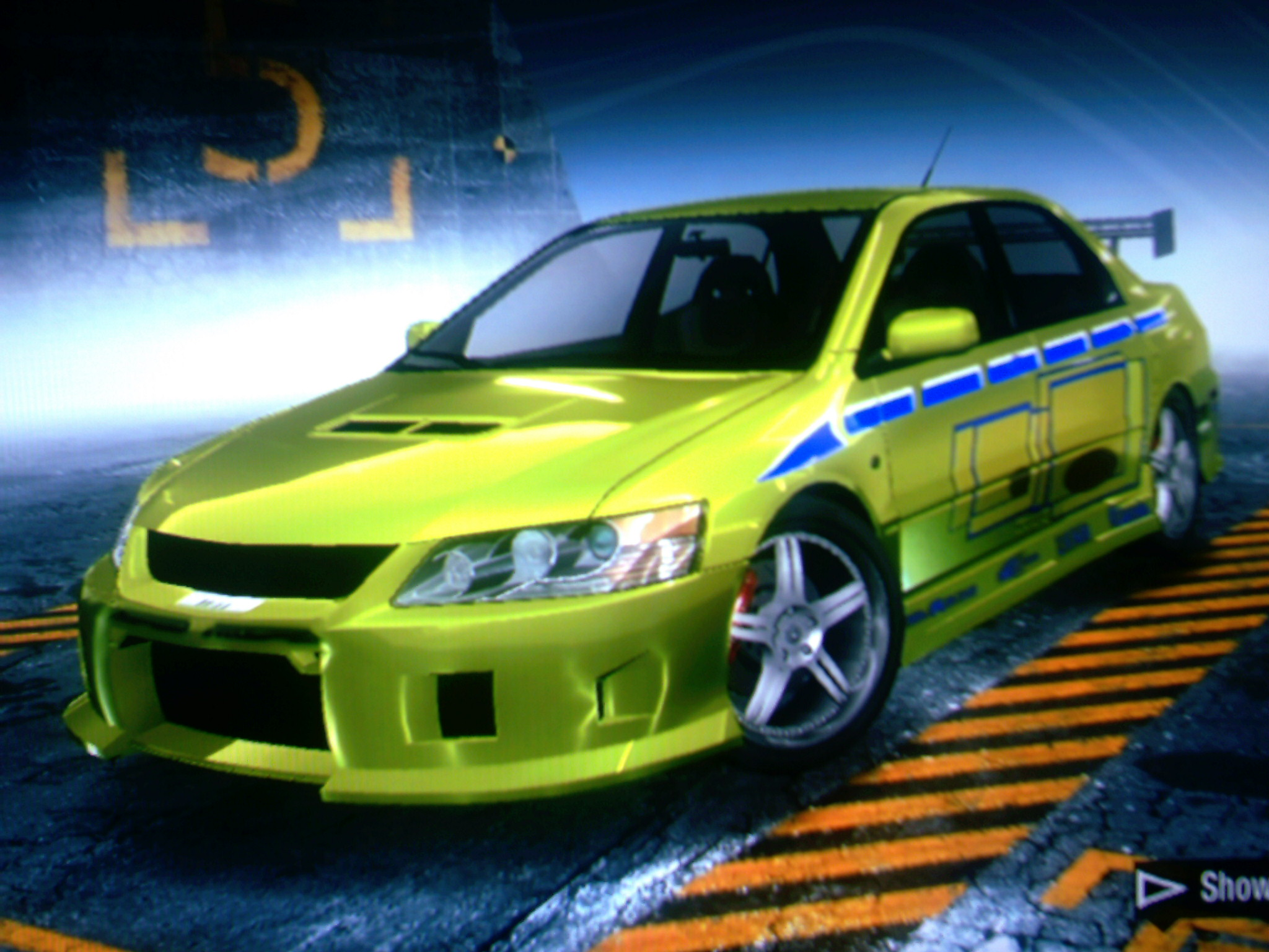 Fast And Furious Brians Evo
