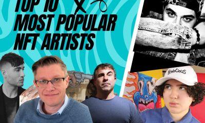 most popular nft artists