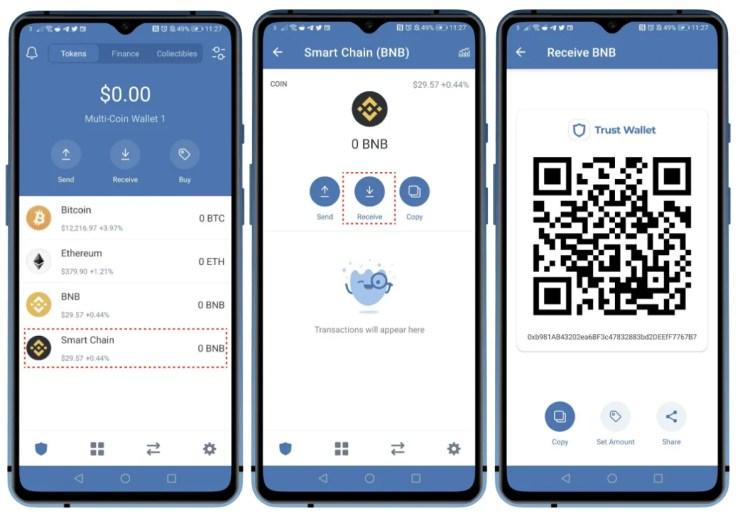 Best Crypto Wallets For NFT Trust Wallet