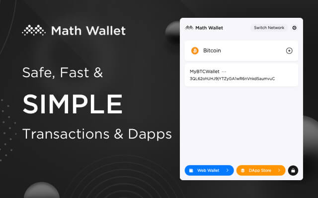Best Crypto Wallets For NFT Math wallet