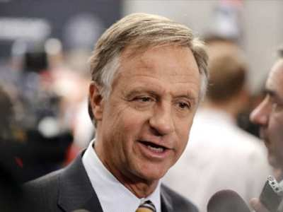TN Governor Bill Haslam Talks to Reporters About Appointments to State Boards